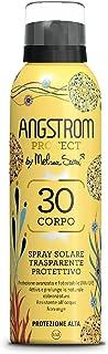 Angstrom Protect Spray Solare Trasparente, Protezione Solare Corpo 30, Spray Solare Limited Edition, Attiva e Prolunga l'A...