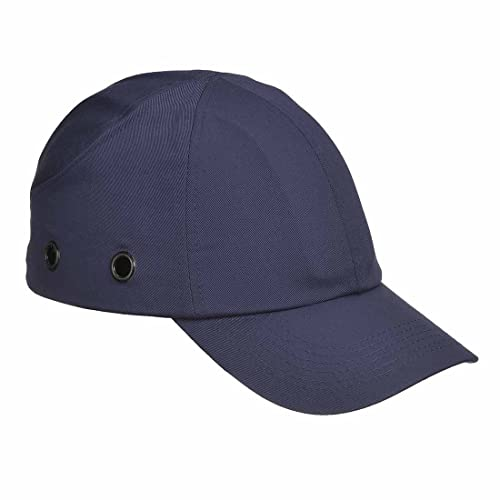 2cd77f7cb67 Spire Protective Vented Safety Baseball Bump Cap Hard Hat Navy Certified  EN812