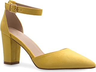 ae57a3fd435 Amazon.com: Yellow - Pumps / Shoes: Clothing, Shoes & Jewelry