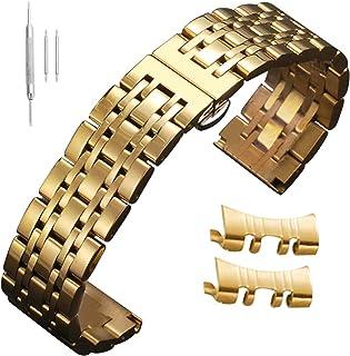 12mm 14mm 15mm 16mm 17mm 18mm 19mm 20mm 21mm 22mm 23mm 24mm Stainless Steel Watch Straps Watch Bands Men