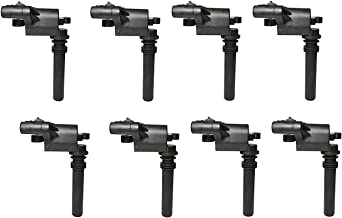 Ignition Coil Pack Set of 8-5.7L V8 Hemi - Fits 2005 Chrysler 300, 04-05 Dodge Durango, 2005 Magnum, 03-05 Dodge Ram, 2005 Jeep Grand Cherokee - Replaces 56028394AB, UF378, IC508, C1414, 56028394AC