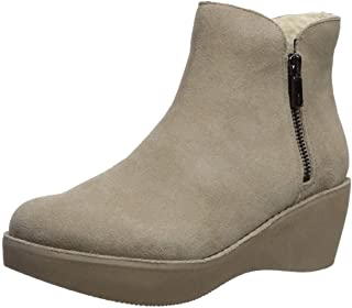 Women's Prime Cozy Platform Bootie with Side Zip Ankle Boot
