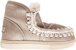 4b4bd5136e Mou Mou-Eskimo Sneaker Cuero Adolescente-Unisex