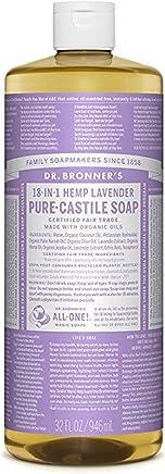 Dr. Bronner's Fair Trade & Organic Castile Liquid Soap - (Lavender, 32 oz)
