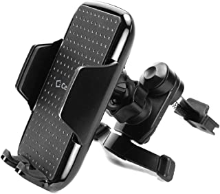 Cellet Air Vent Phone Mount Cradle, Compatible with Apple iPhone 11 Pro Max Xr XS 8 Plus X Samsung Note 10 + 9 8 Galaxy S10 Plus S9+ S8 Google Pixel 4 XL 3 LG K40 Stylo 5 V50 Moto e6 z3 G6 e5 Play
