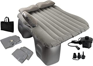 OLIVIA & AIDEN Inflatable Car Air Mattress with Pump (Portable) Travel, Camping, Vacation | Back Seat Blow-Up Sleeping Pad...