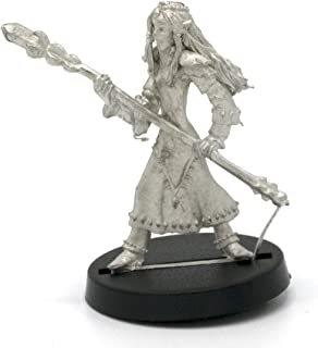 Stonehaven Elf Mage Miniature Figure (for 28mm Scale Table Top War Games) - Made in USA