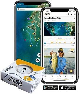 ANGLR Bullseye Fishing Tracker Includes Apparel Clip & Free Fishing GPS App.
