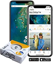 ANGLR Bullseye Fishing Tracker - Portable Bluetooth Smartphone GPS with Satellite Imagery and Logbook for Kayak, Bass, Saltwater, and Fly Fishing