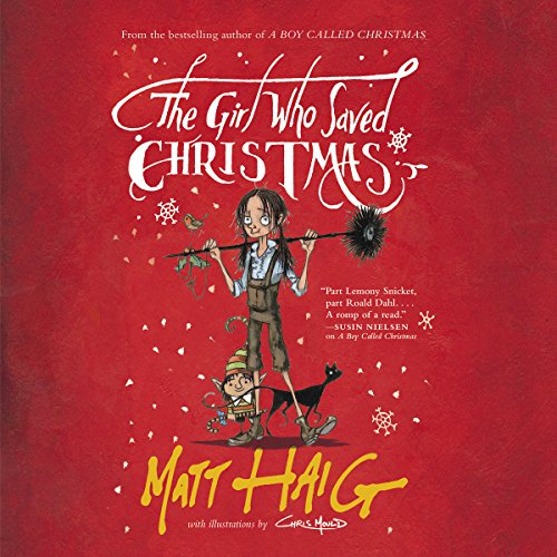 The Girl Who Saved Christmas audiobook cover art