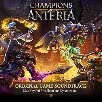 Champions of Anteria (Original Game Soundtrack)