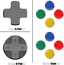 Skull & Co. D-Pad Button Cap Set for Nintendo Switch Joy-Con Controller