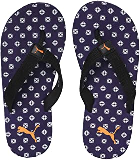 Puma Unisex-Baby Epic Toss Ps Idp Indigo-Orange Popsicle Flip-Flops