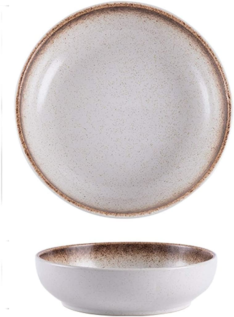 Dinner Classic Plate 8 Popular overseas Inch Round Plates Serving Porcelian Hand-painted