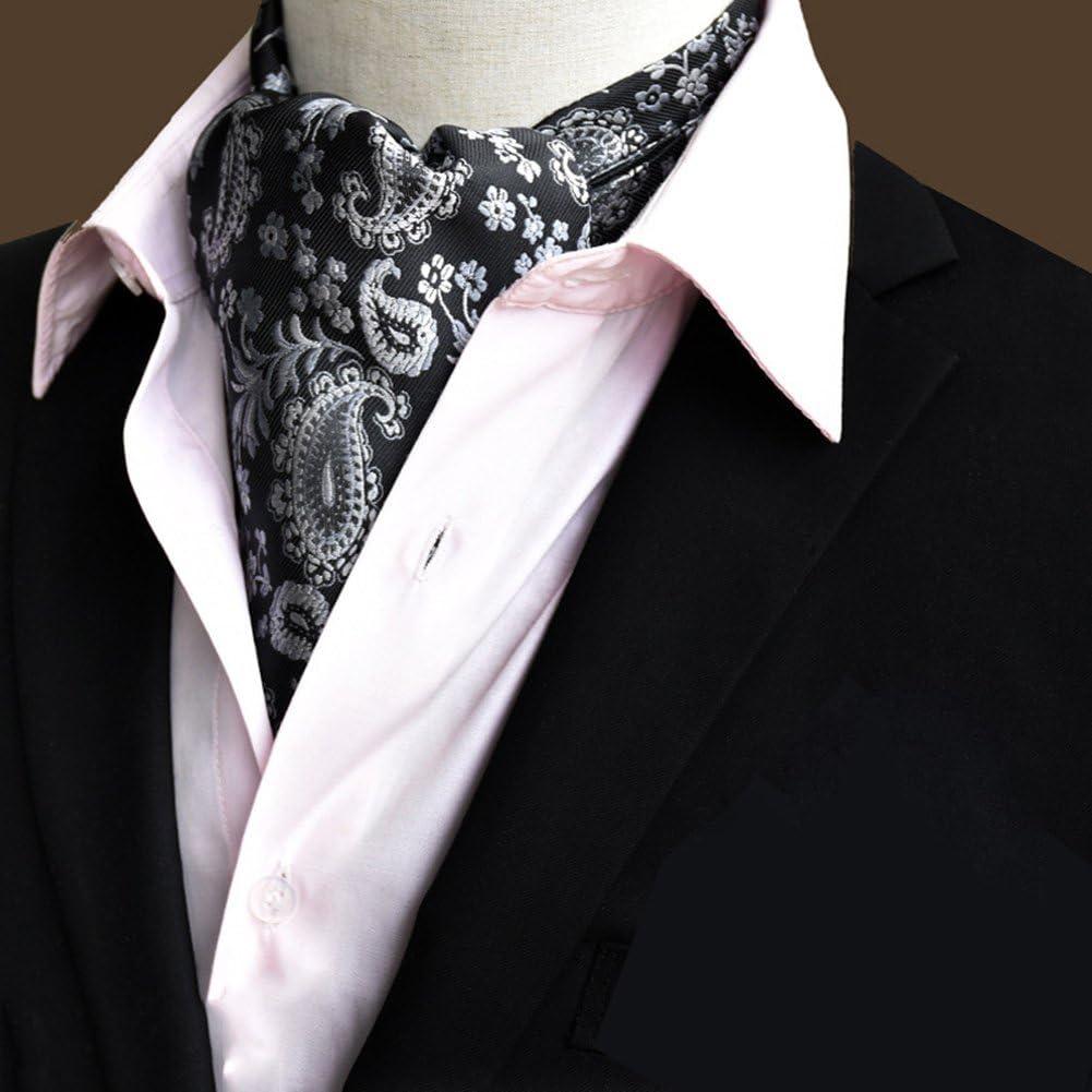 LIANGJUN Men Elegent Silk Cravat Necktie Scarf Wedding Shirt Office Formal Occasions, 118X16cm, 22 Types Available (Color : 16#)