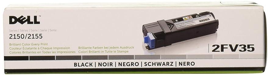 Dell Computer 2FV35 Black Toner Cartridge 2150cdn/2150cn/2155cdn/2155cn Color Laser Printers