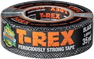 T-REX Ferociously Strong Repair Tape, Black, 1.88 in. x 35 yd. - 241628
