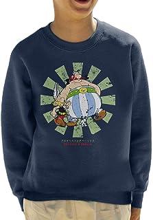 Cloud City 7 Asterix and Obelix Retro Japanese Kid's Sweatshirt