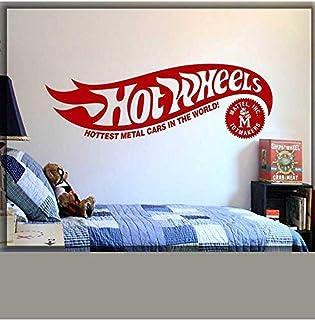 Mode Creatieve Muursticker Wiel Logo Huis Home Art Sticker Muursticker Hot en Wiel Originele Logo Huis Sticker Sticker 124...