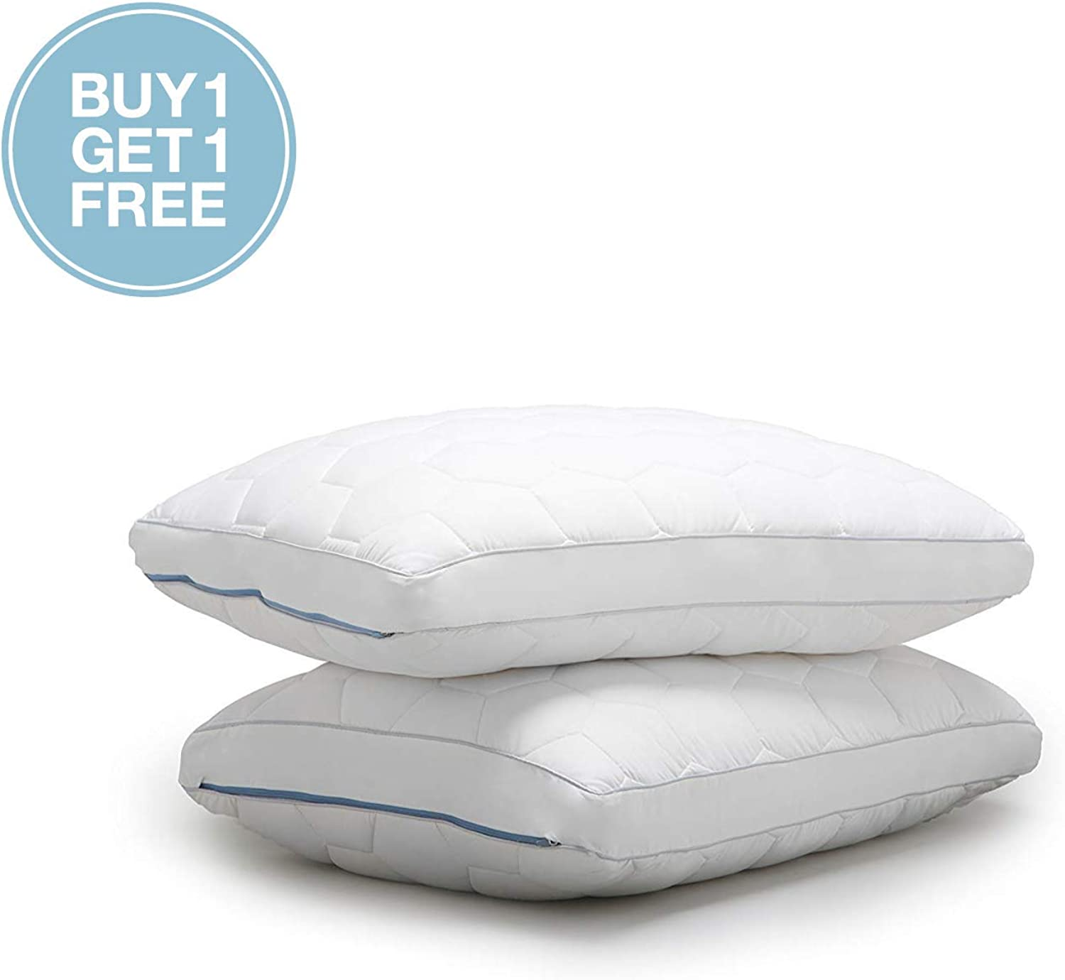 SHEEX Original Performance Down Alternative Side Sleeper Pillow, All of The Softness of Down Pillows with None of The Allergies (King)