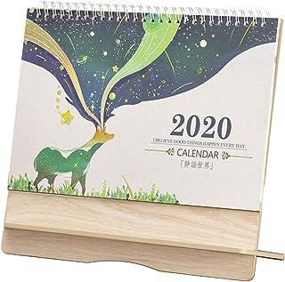 1本 卓上 カレンダー 工作自律打卡 予定 時刻表本 2020年7月から2021年9月配達6〜9労働日まで