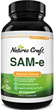 Sam-E 200mg Mood Support Supplement - S-Adenosyl Methionine Sam-E Supplement for Natural Stress Relief Mood Boost Brain Su...