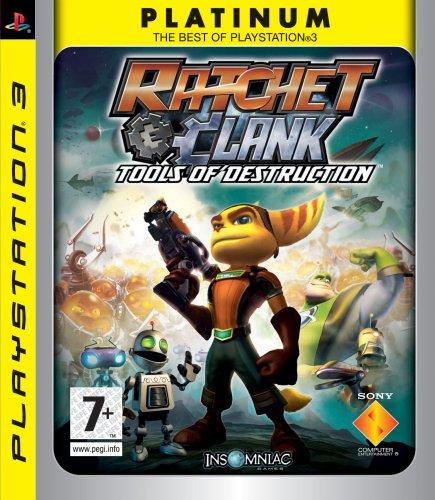 Ratchet & Clank: Tools Of Destruction - Platinum (Sony PS3)