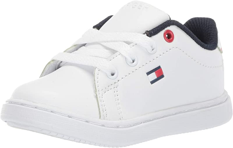 Tommy Hilfiger Kids Unisex Iconic Court Toddler