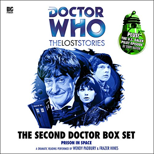 The Second Doctor Box Set audiobook cover art
