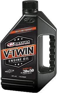 Maxima Racing Oils 30-06901 20w50 V-Twin Mineral Engine Oil - 32 fl. oz.