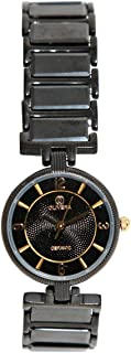 Casual Watch for Women by Olivera, Black, Round, OLC405