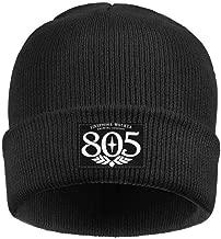 coolgood Black Men Women's 805-beer-logo- Beanie Hat Warm Watch Cap