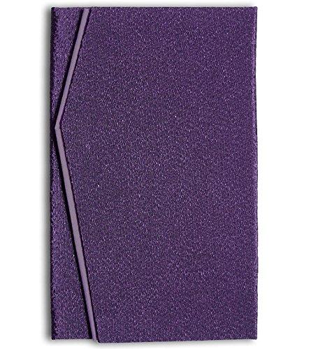 日本製 高級 二重 ちりめん 金封 ふくさ 紫紺 慶弔両用 E-802