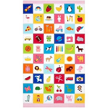 I Spy Novelty Boy Fabric 5 Squares Charm Pack 30 Different Pieces 100/% Cotton