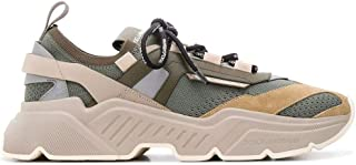 Luxury Fashion | Dolce E Gabbana Men CS1766AX03487767 Beige Polyester Sneakers | Autumn-winter 20