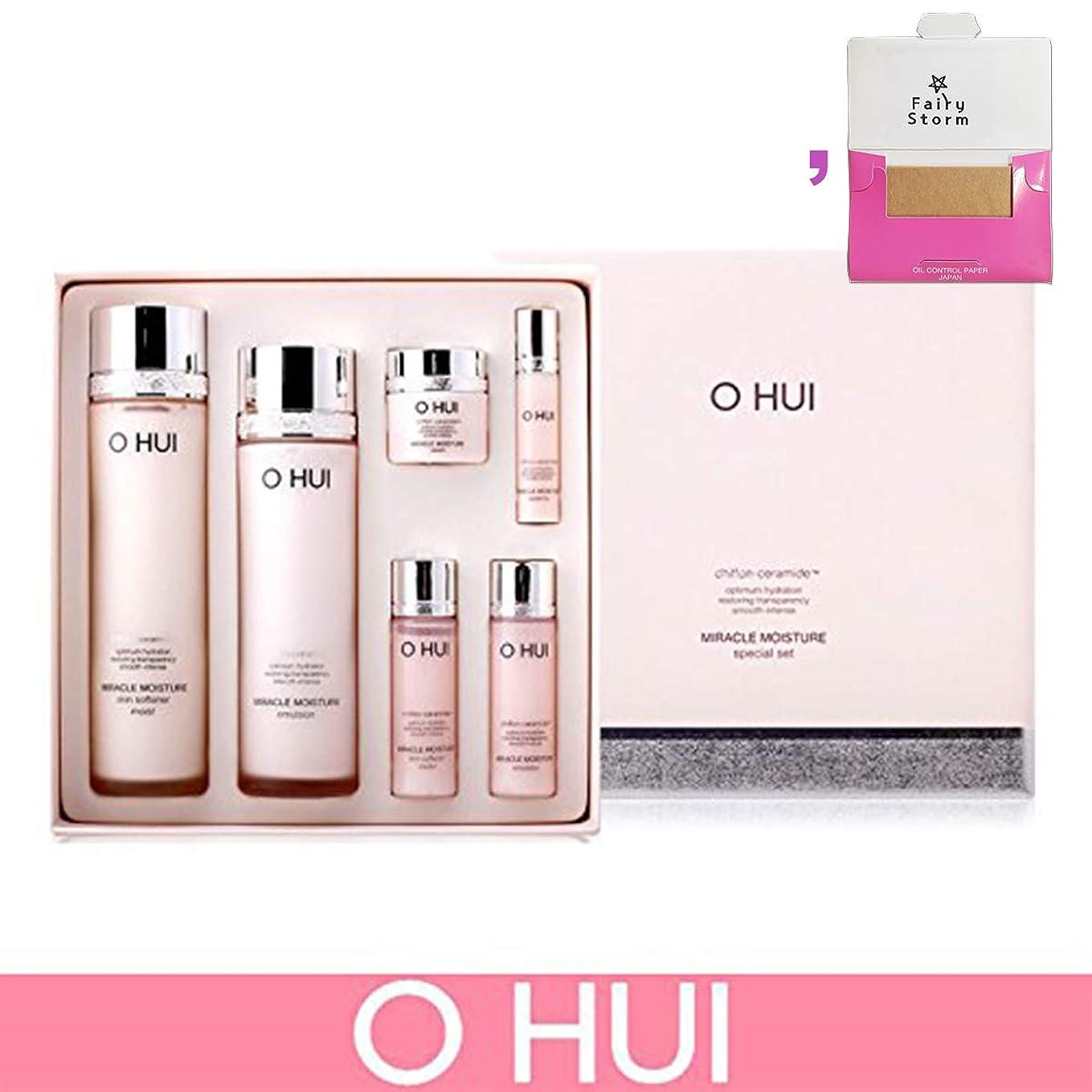サークルどんなときもマスク[オフィ/O HUI] Ohui Miracle Moisture 2 PIECES Special Skincare Limited Edition/ミラクルモイスチャースペシャル限定版セット+ Sample Gift (海外直送品)