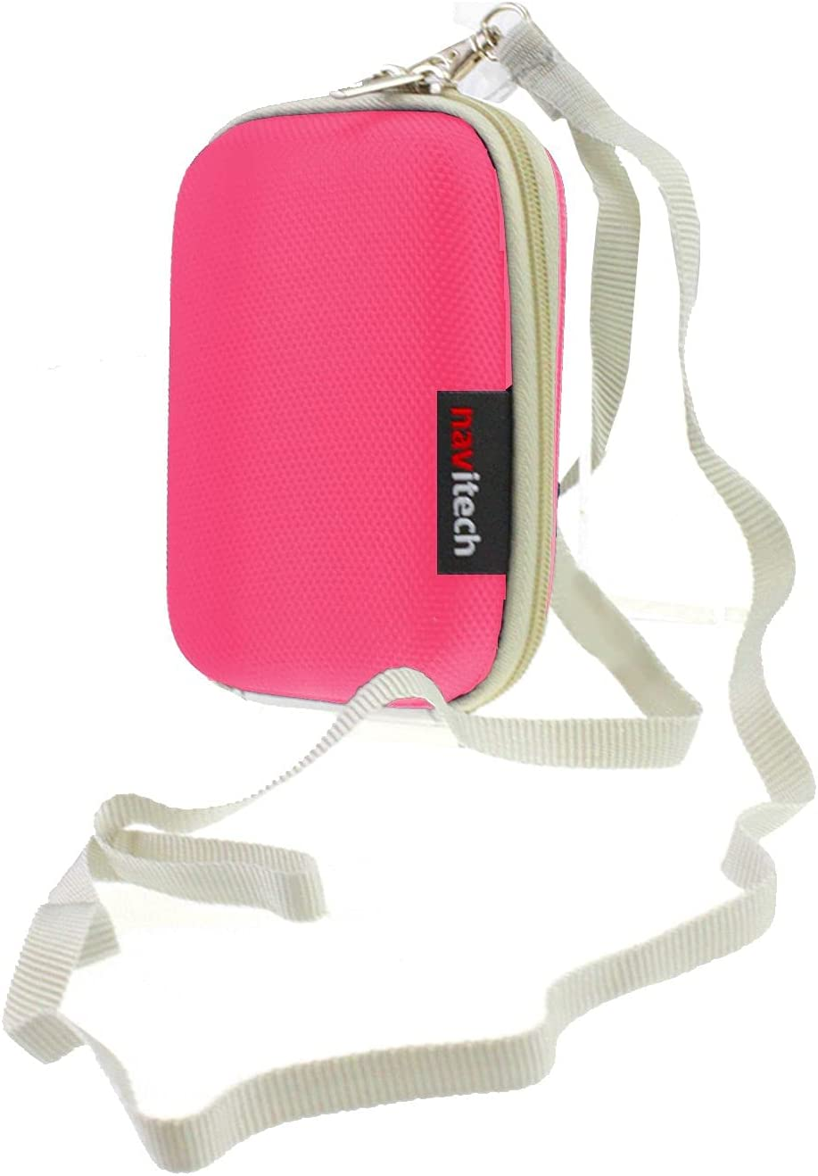 Navitech Pink Hard Carry Case Compatible Exce with AlcoSense Cheap mail order shopping Oakland Mall The