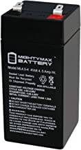 Mighty Max Battery 4 Volt 4.5 Ah Sealed Lead Acid Battery for Fi-Shock SS-440 Brand Product
