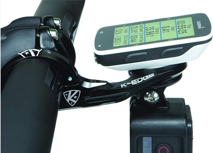 K Edge Unisex Erwachsene K13 1500c Garmin Mount Combo Halterungen Black Anodize One Size Sport Freizeit