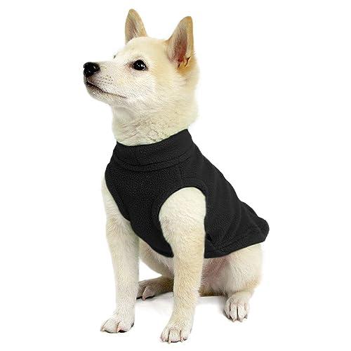 dbb1eeb2 Gooby - Stretch Fleece Vest, Pullover Fleece Vest Jacket Sweater for Dogs
