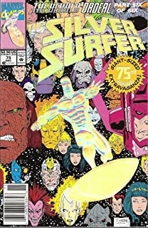 The Silver Surfer #75 With Embossed Holo-Foil Cover October 1992 (The Herald Ordeal part Six of Six: