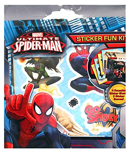 Anker - Ankspsfk - Kit Amusement À L'autocollant - Spiderman