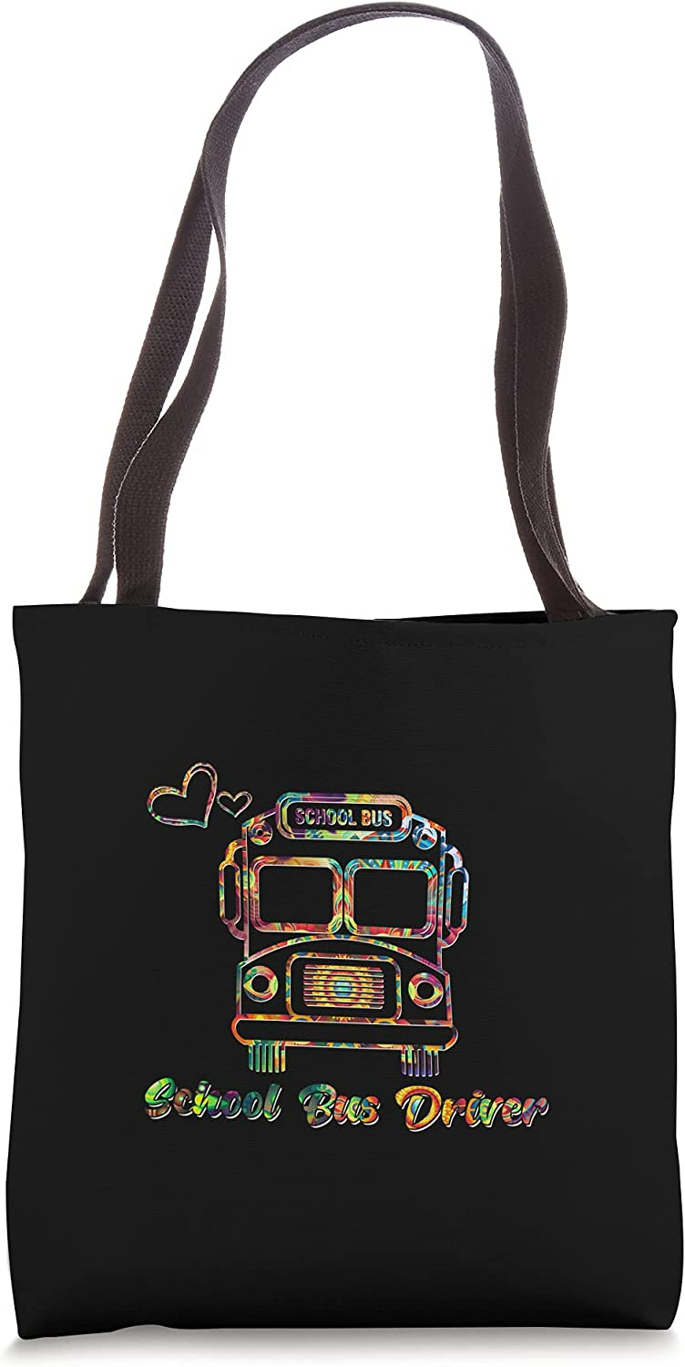 School Bus Driver Yellow Speed Service Tee Tie-dye Tote Charlotte Boston Mall Mall Students