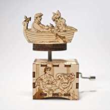 The Little Mermaid music box - Part of your world - Personalized gift - Hand cranked mechanism