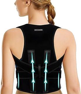 Posture Corrector Full Back Brace for Women & Men - Posture Correction - Adjustable Upright Back Support Straightener - Pr...