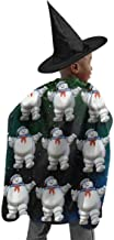 Real Gh-ost Stay-Puft Witch Set Cloak for Halloween Christmas Cosplay Costume with Hats Accessories
