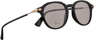Christian Dior Dioressence17 Eyeglasses 49-19-145 Black w/Demo Clear Lens 807 Essence17