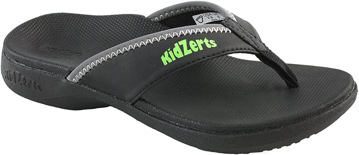 Kidzerts Klute - Arch Support for Indianapolis Mall Children Finally resale start Black Sandals