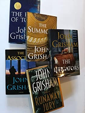 5 Legal Thrillers by John Grisham: The Runaway Jury (1996), The Summons (2002), The King of Torts (2003), The Associate (2009) and the Litigators (2011).
