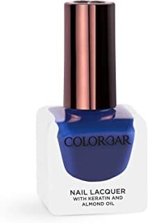 Colorbar Nail Lacquer, Deep Blue See, 12 ml
